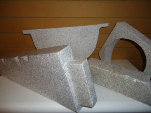 GREY FOAM ANGLES AND SHAPES