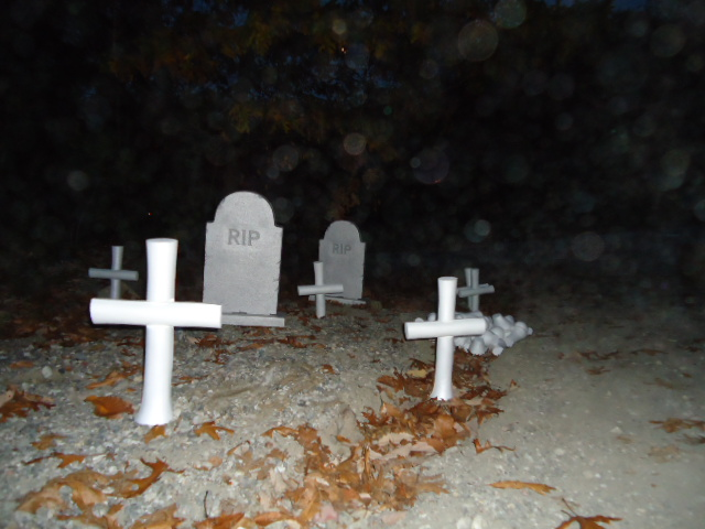 CREATE YOUR OWN GRAVEYARD SCENE OR EFFECT