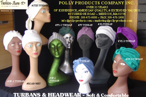 TURBAN & HEADWEAR BROCHURE TM 06 15 19 DEC-2012