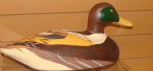 EXAMPLE OF PAINTED DUCK