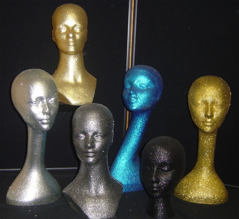 Mannequin Heads Styro Heads Wig Heads Polly Products