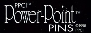 POWER POINT PINS LOGO