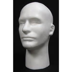 MALE MANNEQUIN HEAD- #6258X POLLY PRODUCTS | Polly Products