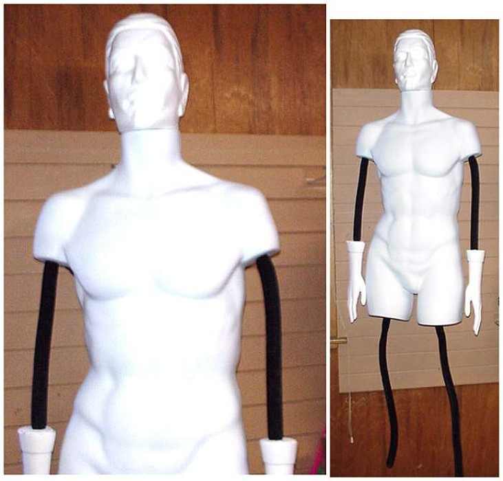 #10000MW FULL BODY POLLY-FLEX tm MANNEQUIN