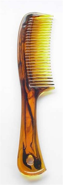 #320 LARGE TORTOISE COMB WITH HANDLE