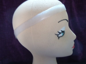 #TPWG615 POLLY WIG GRIP- THIN ON #800XCCC-1CM MANNEQUIN HEAD