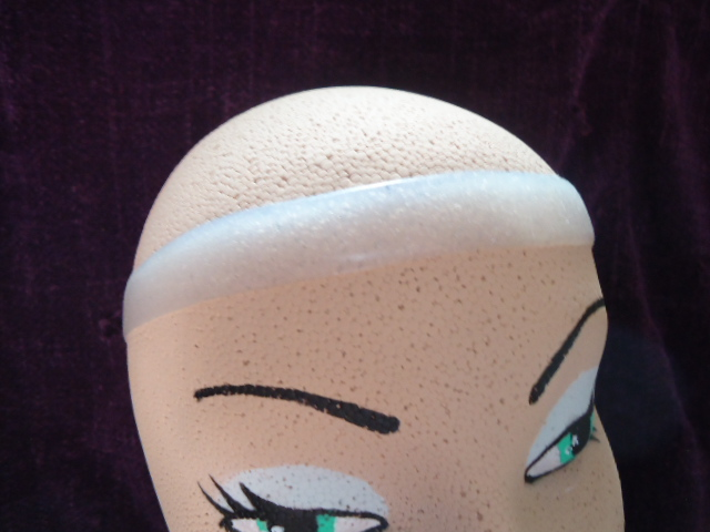 #TPWG615 THIN POLLY WIG GRIP tm ON #800XCCC-1CM MANNEQUIN HEAD