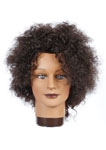 "FM180  AFRO WAVE 6"" BROWN 100% HUMAN HAIR"