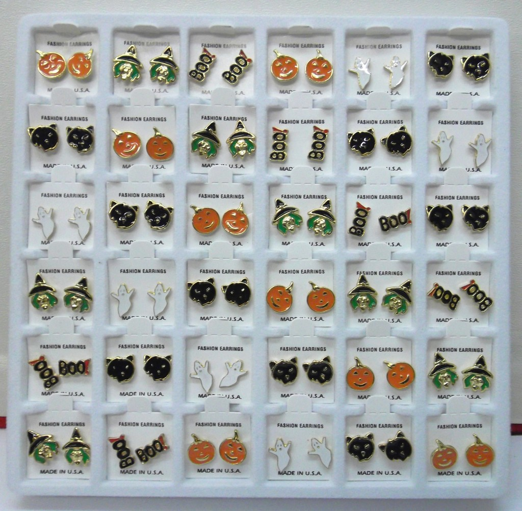 #3725A HALLOWEEN MINI EARRINGS- POLLY PRODUCTS
