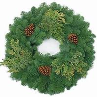 """#WCM  MIXED CANDLE WREATH- 6"""""""