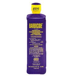 #BCLEAN-16 BARBICIDE 16OZ./PINT CLEANER-DISINFECTANT FOR SALON TOOLS