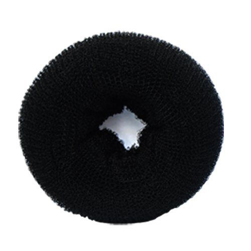 #3235-BK HAIR/WIG FOUNDATION RING-MESH: STANDARD SMALL BLACK