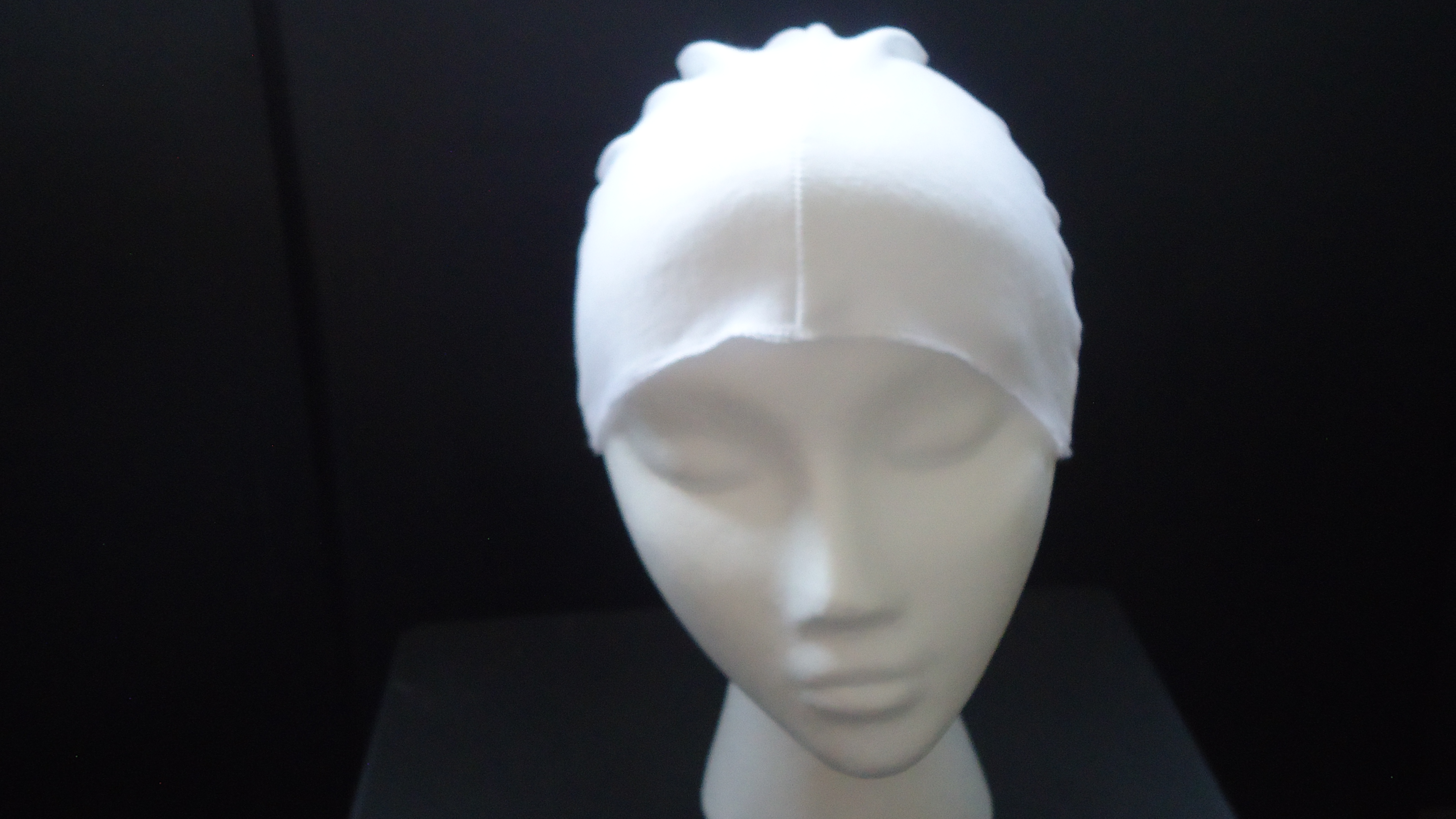 #WCCOTTON-WH FASHION-AURA TM JERSEY COTTON WIG CAP BY POLLY PRODUCTS CO.